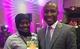 Le Ministre de l'Economie, du Plan et de la Coopération avec la Présidente du Club de Jeunes filles au Sommet de Nairobi